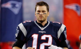 Tom Brady before a game.