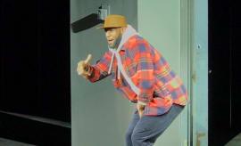 Lebron James in KITH Spring 2018 NYFW Show