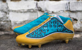 Jalen Ramsey Jaguars Air Jordan 13 Low by Kickasso (1)