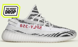 The Weekly Drop: Zebra Yeezy 350 v2 Boost