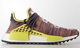 Pharrell x Adidas NMD HU Trail 'Multicolor' (Lateral)