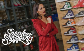 Nikki Bella Goes Sneaker Shopping With Complex | Sneaker Shopping