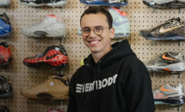 logic sneaker shopping