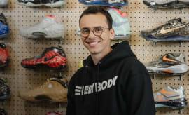 logic sneaker shopping