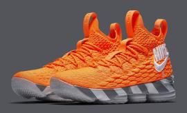 42c38c4b611dfd Nike LeBron 15 Orange Box Release Date AR5125-800 Main