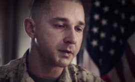 Shia in 'Man Down'