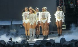 "This is Beyoncé performing ""Formation."""