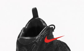 Nike Nike Pippen 1 Black Pony Hair Red
