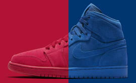 Air Jordan 1 Red blue Suede Pack Release Date