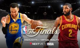 VR NBA FINALS PR Image