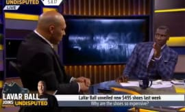 LaVar Ball on FS1's 'Undisputed.'