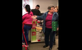 Jefferson Mall racist woman