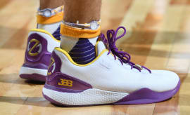 Lonzo Ball Big Baller Brand ZO2 SHO'TIME Lakers Summer League Debut On-Foot