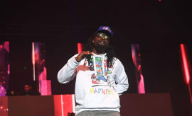 This is a photo of Wale.