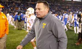 Ex-Tennessee coach Butch Jones.