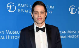 Pete Davidson on the red carpet.