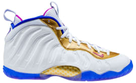 newest c2141 1cd7f shop nike air foamposite one fc977 100a3  ireland nike little posite one  white fuchsia blast racer blue metallic gold release date 644791 103