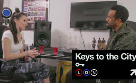 Jade Zoe and Craig David in Keys to the City.