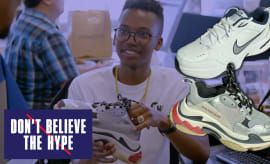 Nike Air Monarch vs Balenciaga Triple S in the Dad Shoe Face-Off |Don't Believe The Hype