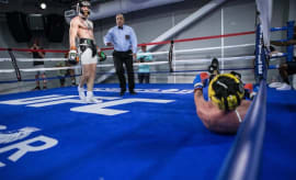 Did Conor McGregor knock Paulie Malignaggi out?