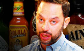 Nick Kroll Hot Ones Thumb