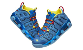 Brody Miller Brings Own Superhero to Life on Doernbecher Nike Air More  Uptempo 24d2dbed4d