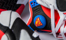 Reebok Shaq Attaq Superman Release Date Tongue 161074ed5561