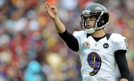 Raven's Punter Justin Tucker Busted Out a 75-Yard Field Goal