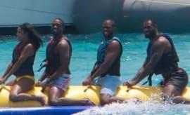 Banana boat crew.