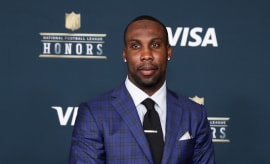 Anquan Boldin arrives on the red carpet prior to the 6th Annual NFL Honors.