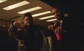 The Weeknd Drake Reminder Video
