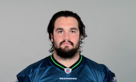 John Moffitt's Seattle Seahawks headshot from 2011