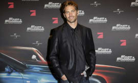 Paul Walker at a 'Fast & Furious' premiere.