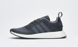 """Sneakersnstuff x Adidas NMD_R2 """"Dark Grey Melange"""""""