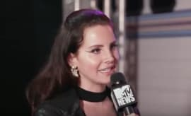 Lana Del Rey speaks with MTV News.