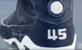 Michael Jordan Game-Worn Air Jordan 9 IX Baseball Cleats Barons ec16db69a1