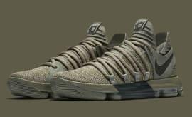 Nike KD 10 Dark Stucco Release Date 897817-002 Main