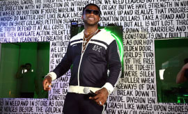 Rapper Gucci Mane performs at Public School And The Confidante Present WNL Radio