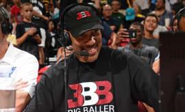 LaVar Ball during an NBA Summer League game.