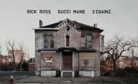 "This is Rick Ross' single art for ""Buy Back the Block."""