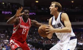 Dirk Nowitzki Dallas Mavericks Houston Rockets 2016