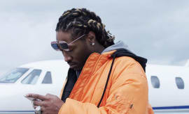 Future poses for an Instagram picture.