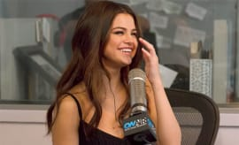 selena gomez on radio