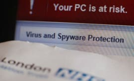 Virus and spyware protection.