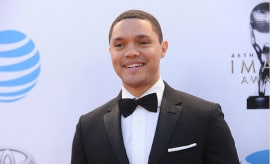Trevor Noah attends the 48th NAACP Image Awards