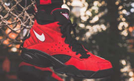 Kith Nike Air Maestro 2 Red Suede Ronnie Fieg Pippen