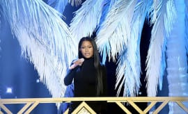Nicki Minaj performs at 2016 American Music Awards.