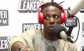 Joey Badass on Power 106
