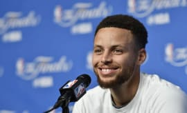 Steph Curry press conference