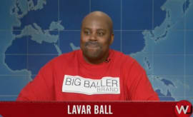 Kenan Thompson as LaVar Ball.